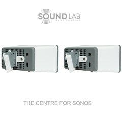 Sonos Play:3 Tilt Wall Bracket - White (Pair)