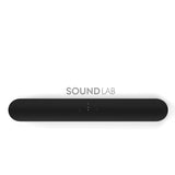 Sonos 5.0 Home Theatre Surround Sound Beam + One SL Pair Pack Black