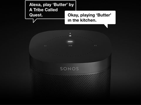 Sonos ONE Black Bundle