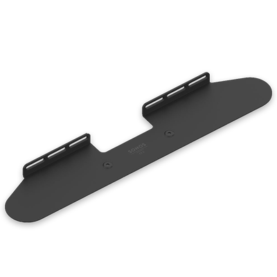Sonos BEAM and Wall Mount Bracket Bundle - Black