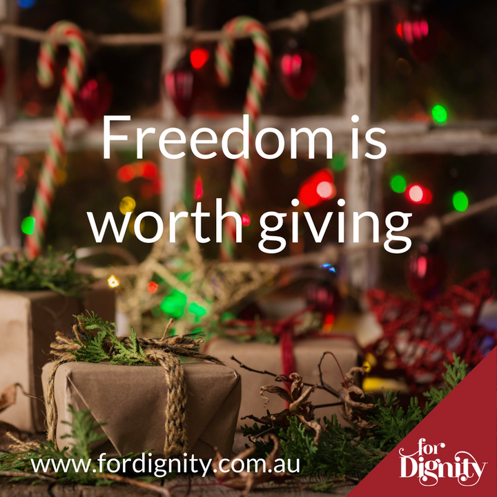 Freedom is worth giving blog