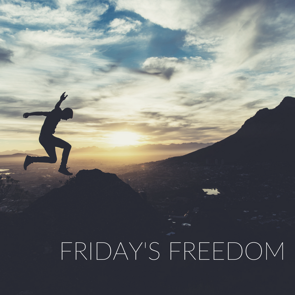 Friday's Freedom Story this First Day of June