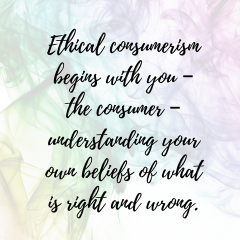 Ethical consumerism blog by For Dignity- defining ethical