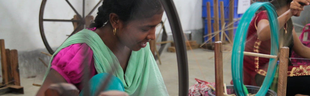The amazing people who craft our ethical products