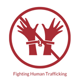 Helping stop human trafficking icon, For Dignity Australia