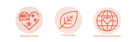 Ethically sourced, eco friendly and Australian made icons