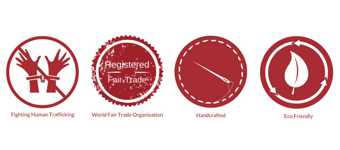 Fighting human trafficking, WFTO, Handcrafted, Eco-friendly