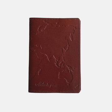 Books, Games and more fair trade ethical sustainable fashion Leather Passport Holders conscious purchase Matr Boomie
