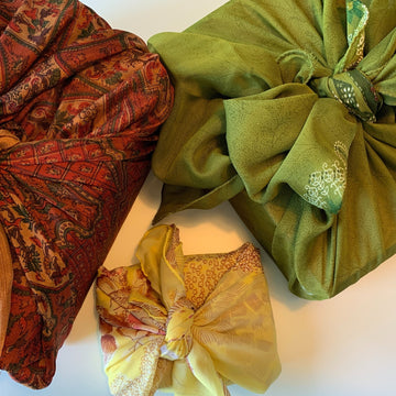 Celebration fair trade ethical sustainable fashion Fabric Gift Wraps conscious purchase Matr Boomie