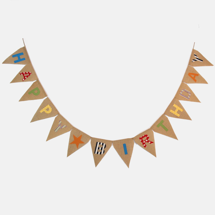 Celebration Happy Birthday Bunting Fashion Ethical gifts and fair trade from For Dignity