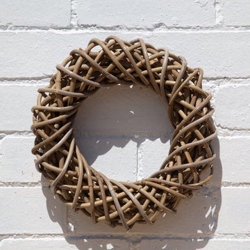 Celebration fair trade ethical sustainable fashion Rattan Wreath conscious purchase Fair Go Trading