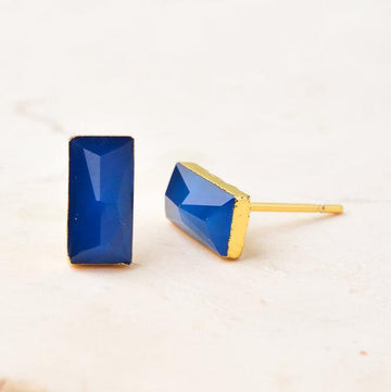 Earrings Annesley Blue Stud Earrings Fashion Ethical gifts and fair trade from For Dignity