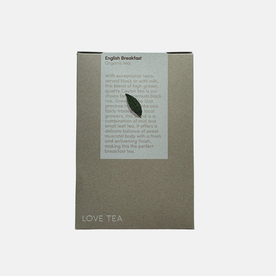 Pantry fair trade ethical sustainable fashion English Breakfast Tea conscious purchase Love Tea
