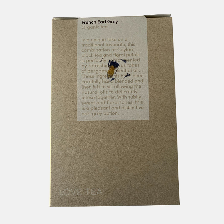 Pantry fair trade ethical sustainable fashion French Earl Grey Tea conscious purchase Love Tea