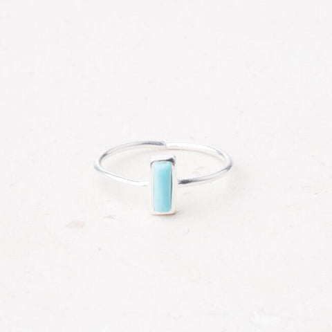 Anna Brett: Sterling Silver and Turquoise Ring