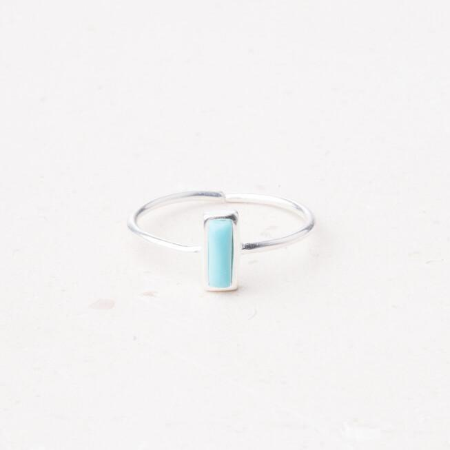 Ring Anna Brett: Sterling Silver and Turquoise Ring Ethical and Fair trade at for Dignity