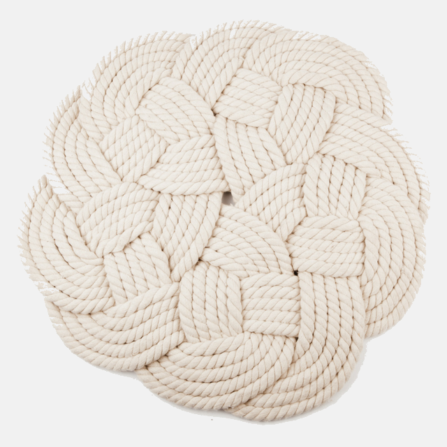 Rugs Cotton Knotted Mat Ethical and Fair trade at for Dignity