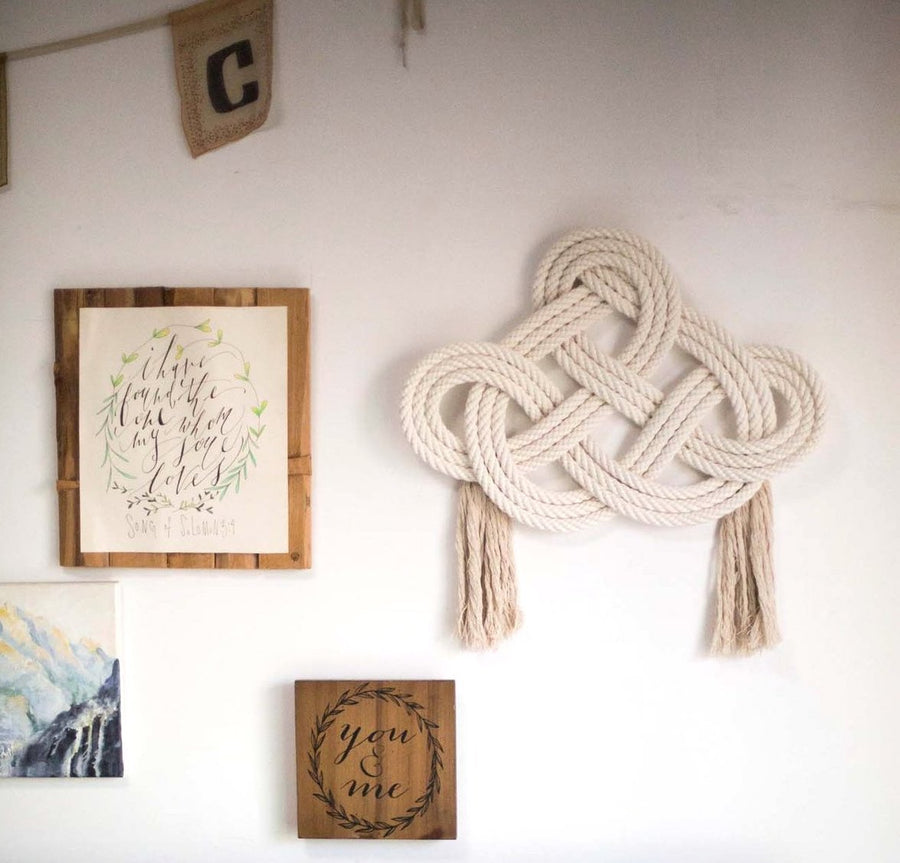 Infinity Cotton Wall Hanging