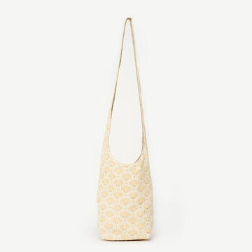 Ivory Hippy Bag -Soha in Ivory Dandelion