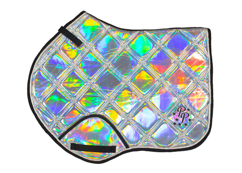 Holographic Jump Saddle Pad
