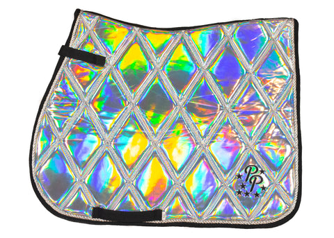 Holographic GP Saddle Pad