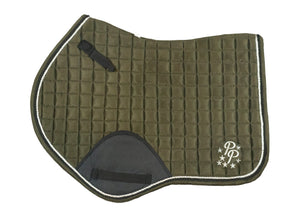 """Martini"" Olive Suede Jumper Pad"