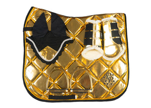 Patent Gold Dressage Set