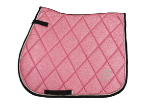 Pink Glitter GP Saddle Pad