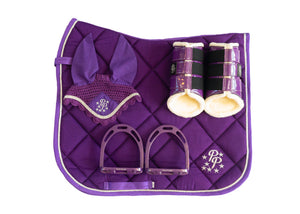 Amethyst Purple Dressage Set