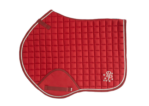 Cherry Red Saddle Pads - Jump, GP, and Dressage cuts