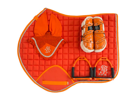 Sunset Orange Jump Set