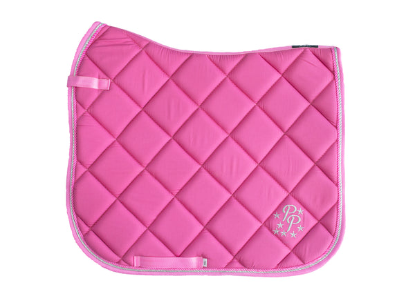 Rose Pink Saddle Pads - Jump, GP, and Dressage cuts