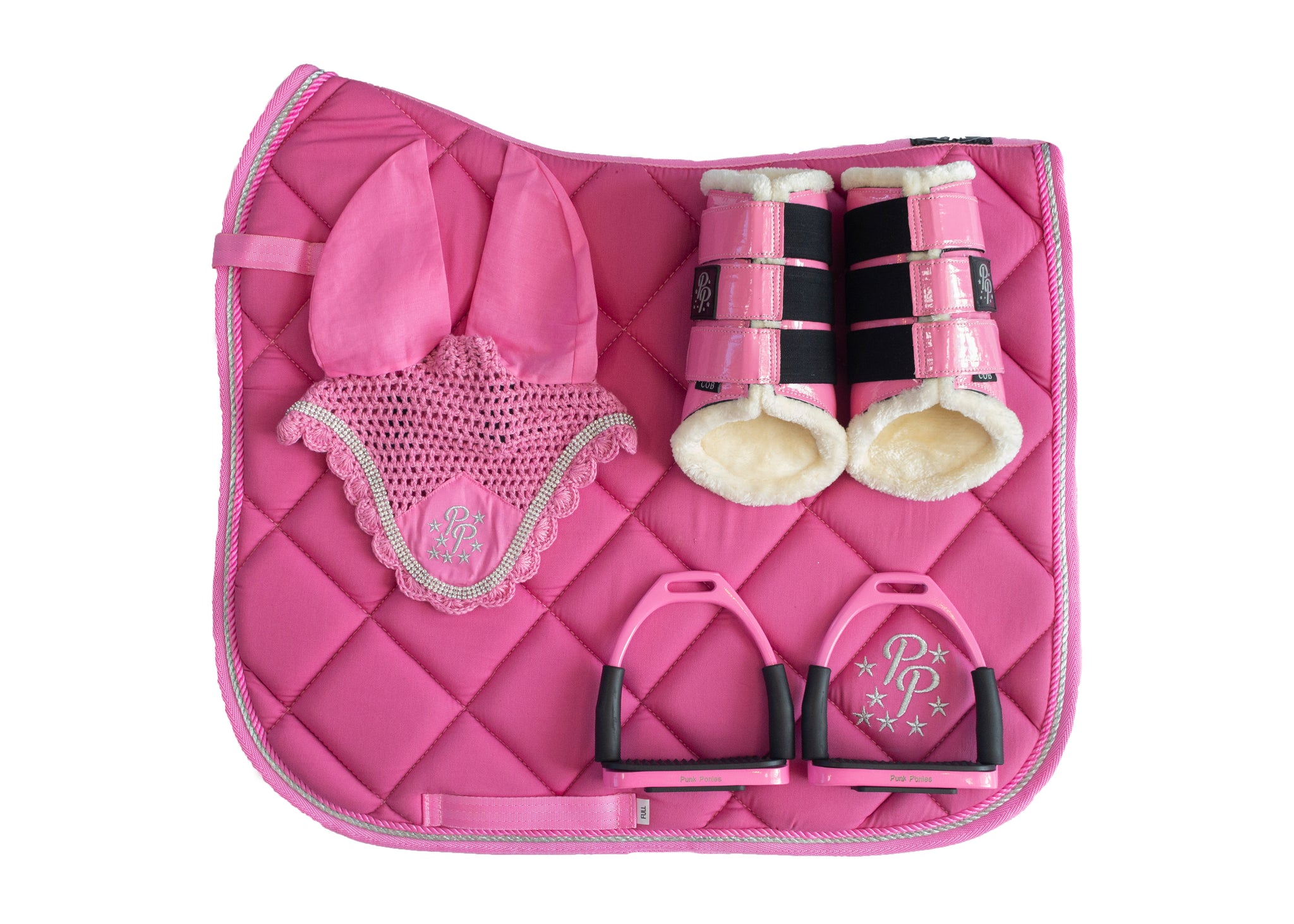 Rose Pink Dressage Set