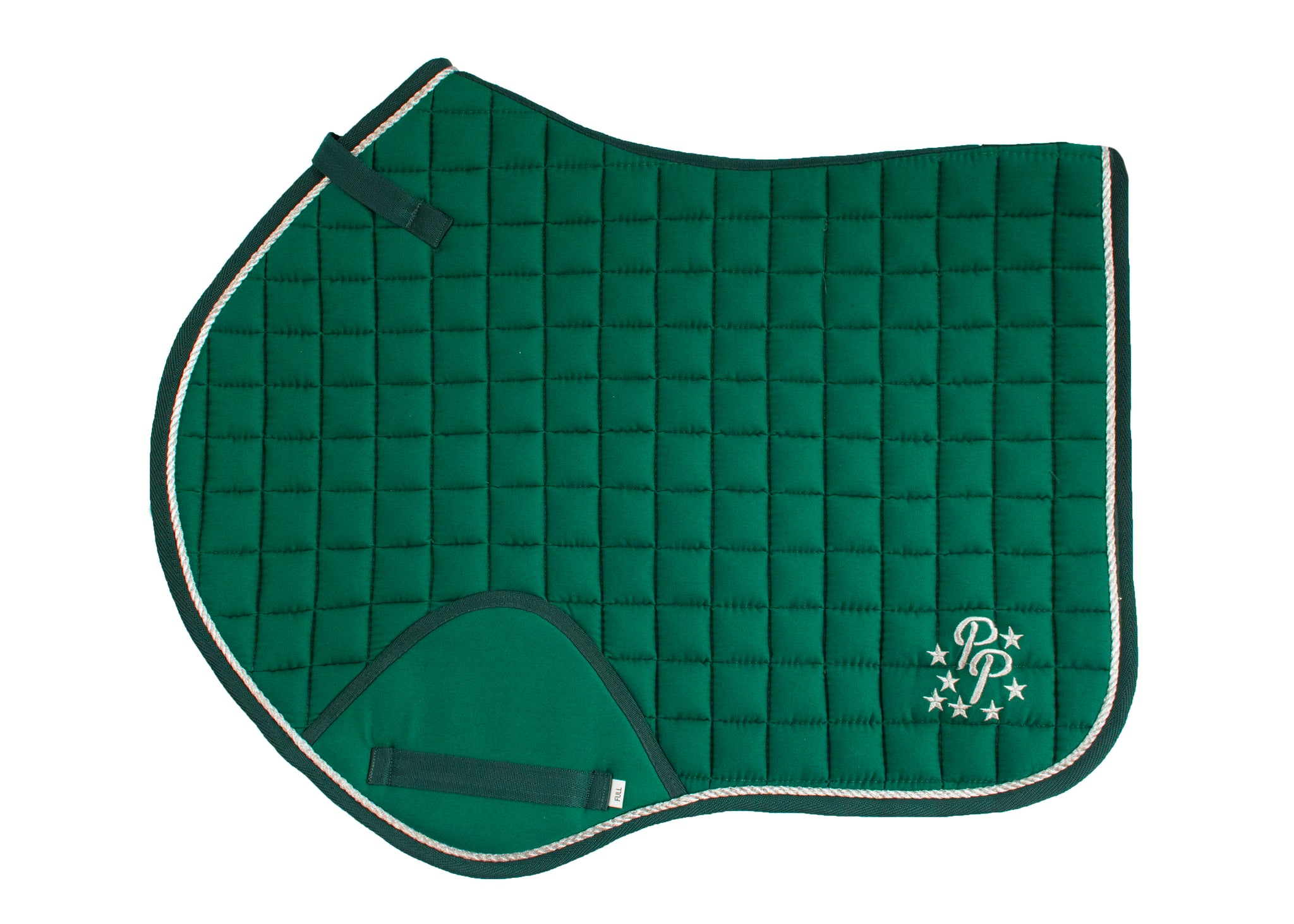 Hunter Green Saddle Pads - Jump, GP, and Dressage cuts