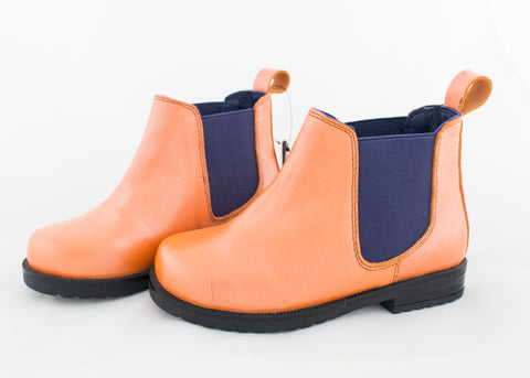 Orange Child's Jodhpur Boots SAMPLE