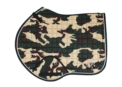 Camo Saddle Pads - Jump, GP, and Dressage cuts