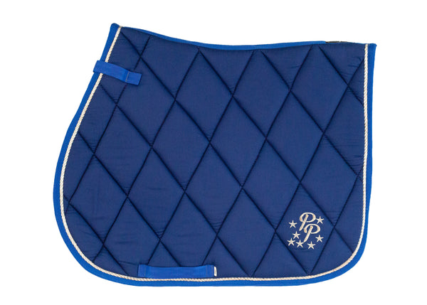 Royal Blue Saddle Pads - Jump, GP, and Dressage cuts