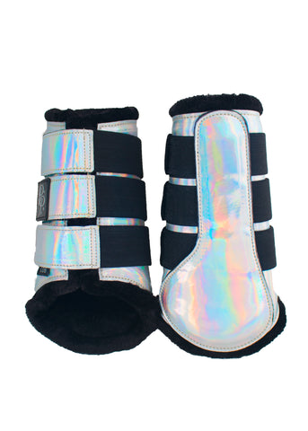 Black Fleece Brushing Boots