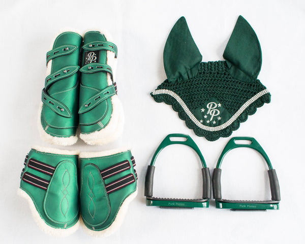 Boots, Bonnet, and Stirrups Set