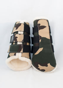 Camo Brushing Boots