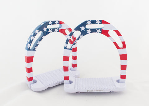 Flag Wide Base Stirrups