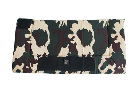 Camo Western Saddle Pad
