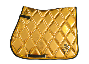 Gold GP Saddle Pad