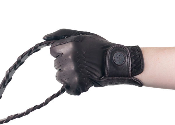 Brown Napa Leather Gloves