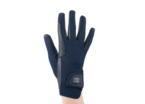 Navy Summer Mesh Gloves