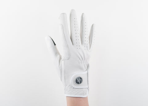 White Napa Leather Gloves