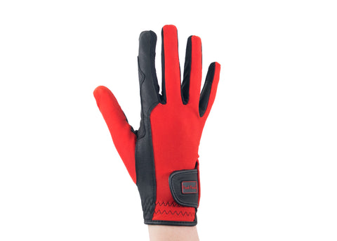 Red Touchscreen Friendly Gloves