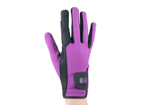 Purple Touchscreen Friendly Gloves