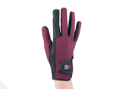 Plum Touchscreen Friendly Gloves