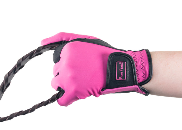 Pink Touchscreen Friendly Gloves
